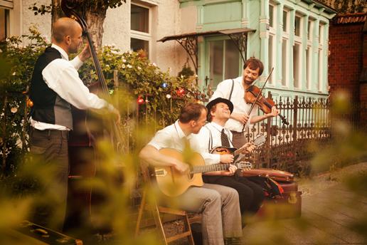 Monsieur Pompadour– French Swing und Djangos Songs