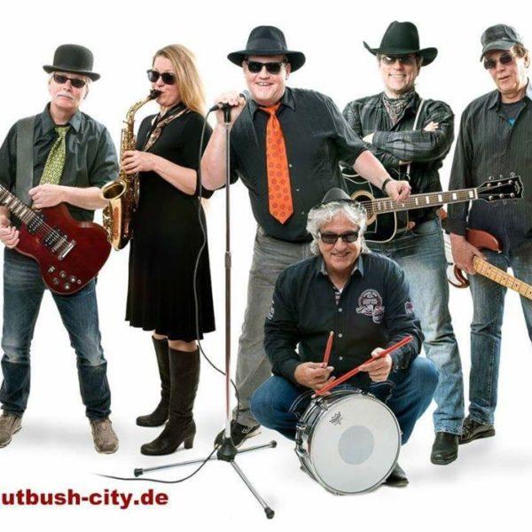 """Pfingstvergnügen – mit der """"Nutbush City Live Band"""""""